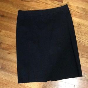 Gap black pencil skirt size 16